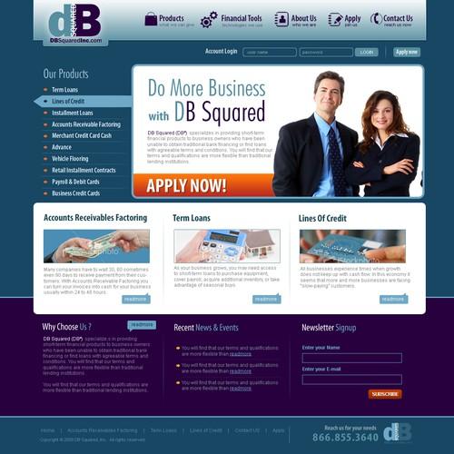 New Business Lending Company Needs Website!