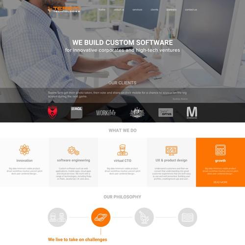 Terem Technologies Homepage