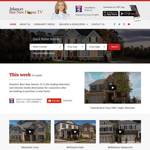 Wordpress theme for Real Estate tv show