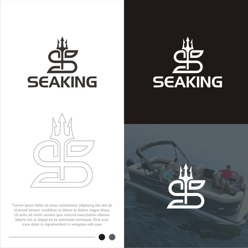 Creative logo design for Seaking