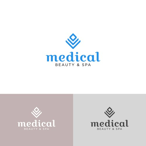 Minimalist logo concept for Medical Beauty & Spa
