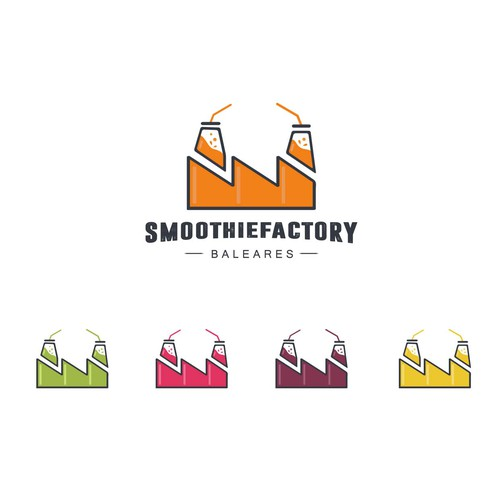 "Logo concept for ""Smoothiefactory"""