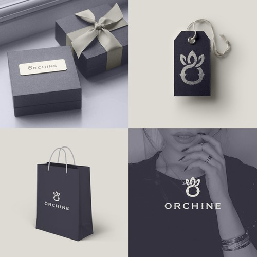 Logo concept for a Jewellery