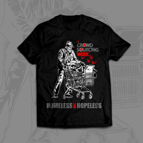 Tshirt Homeless Design