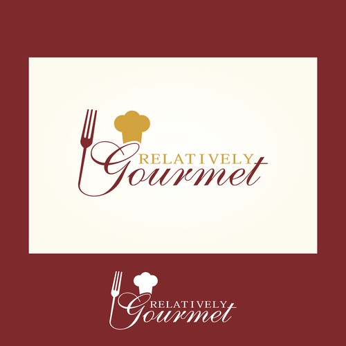 Help Relatively Gourmet with a new logo
