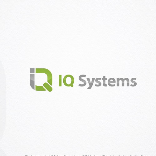 Logo for IQ SYSTEMS full technology company