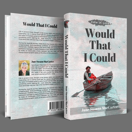 """""""Would That I Could"""" Book Cover Design Project"""