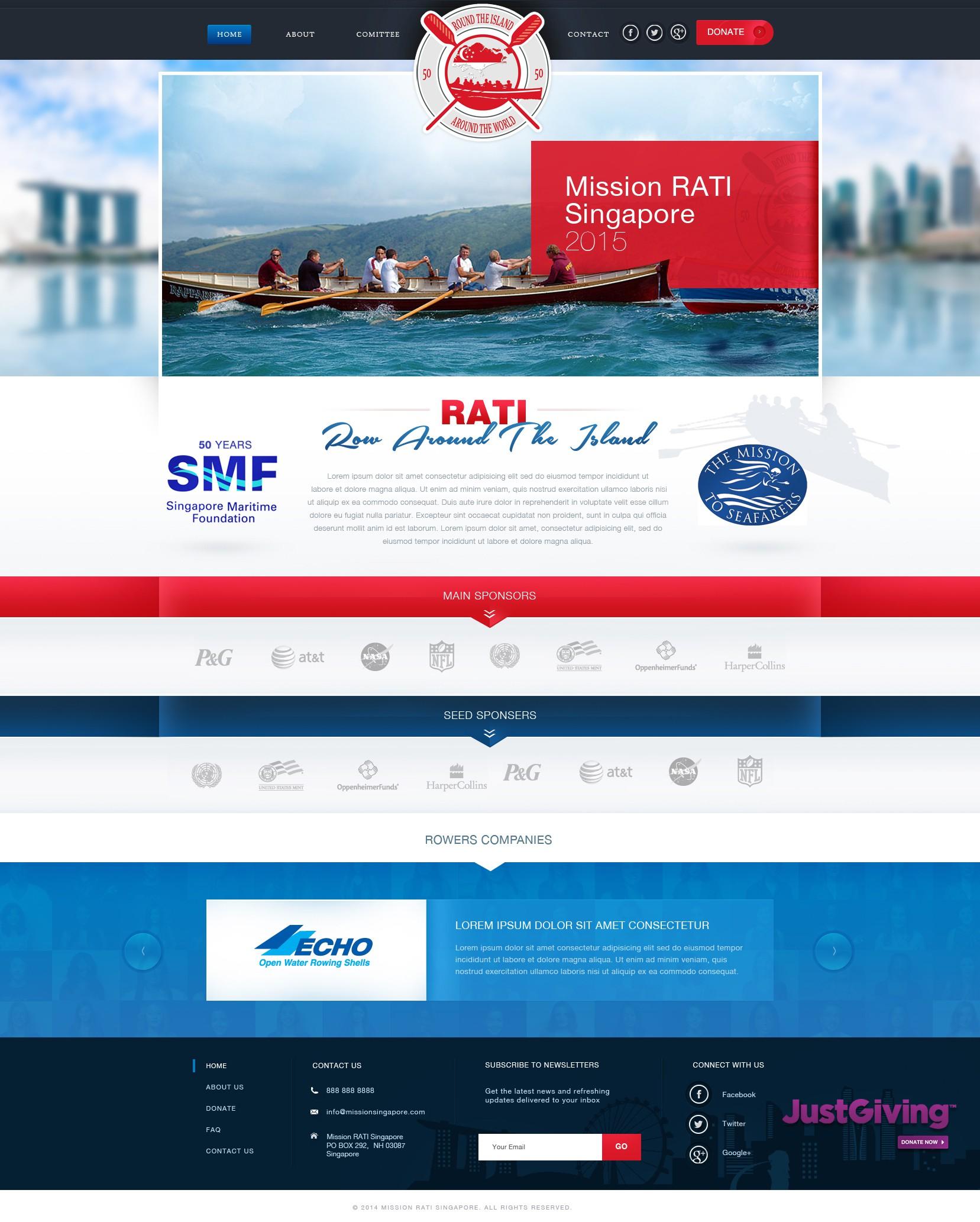 Mission RATI Singapore 2015