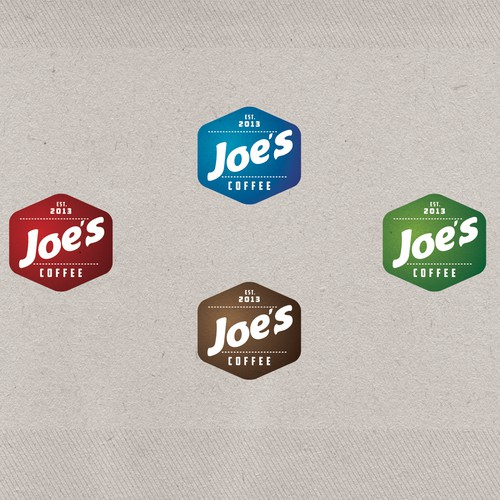 Logo for Joe's Coffee - Logo Design & Takeaway Coffee Cup