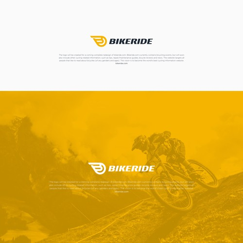 Logo concept for Bikeride