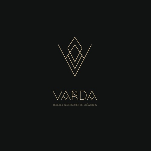 Logo concept for jewelry and accessories brand