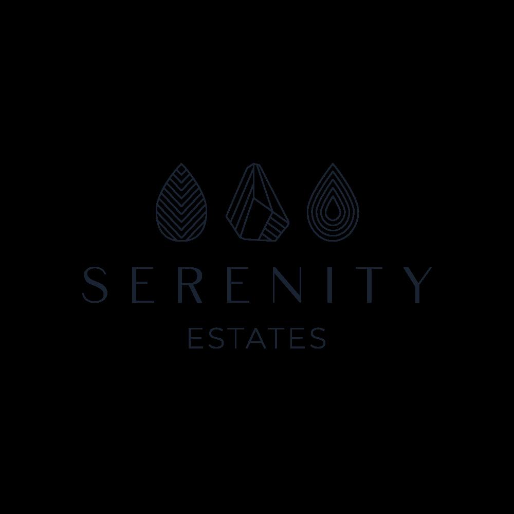 Serenity Estates - Create Our Neighborhood's logo for the Entrance