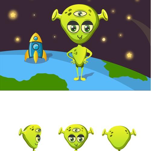 illustration - Alien Paul is a low-level intellectual