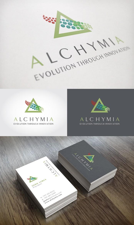 The next greatest Logo design for Alchymia!
