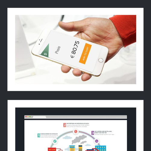 responsive parallax design