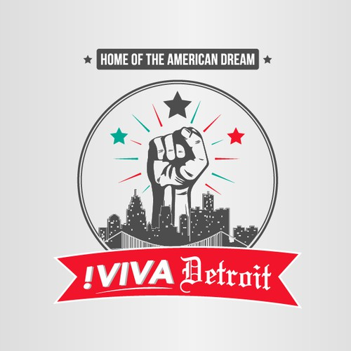 Viva! Detroit - logo for a revolution needed!