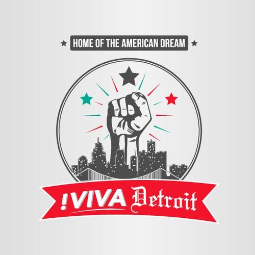 Viva! Detroit - logo for a revolution needed!