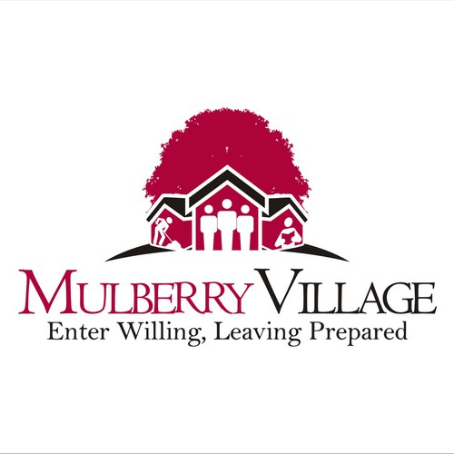 Bold creative elegant  design for Mulberry Village