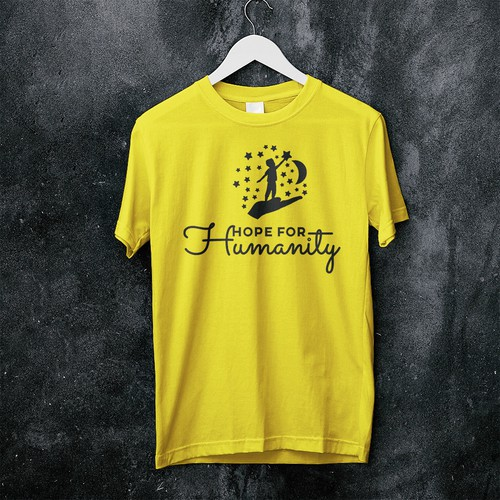 Hope for Humanity T-shirt design