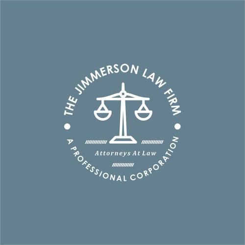 monoline logo for law firm