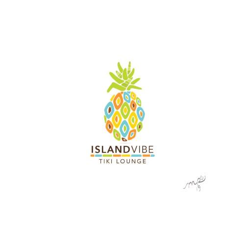 Tiki lounge logo