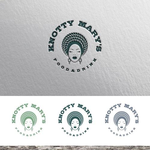 Logo concept for lake restaurant