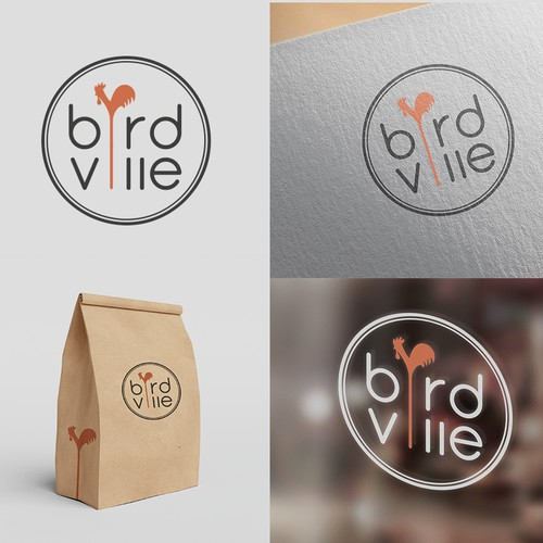 Logo concept for Birdville