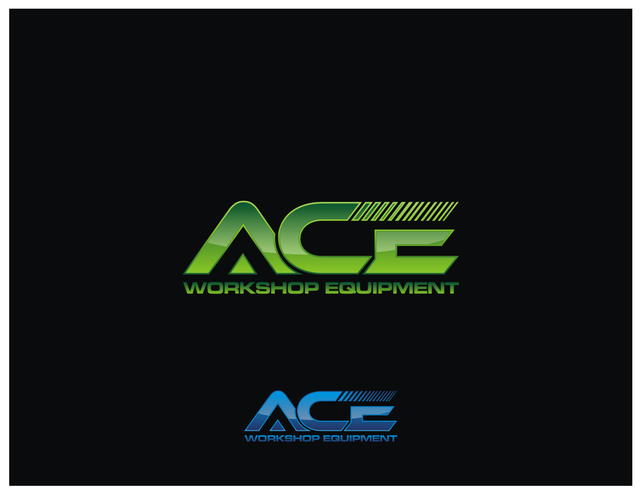 Create the next logo for ACE Workshop Equipment