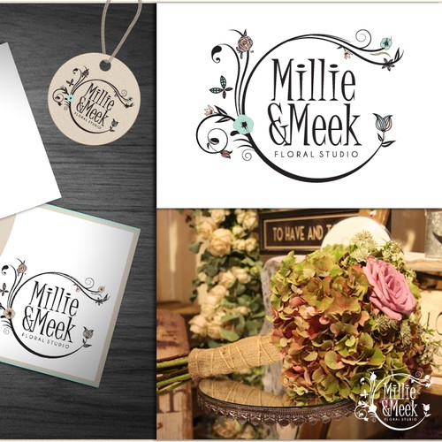 Help Millie & Meek Floral Studio with a new logo