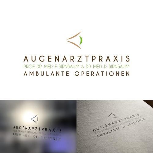 Logo concept for an oculist practice