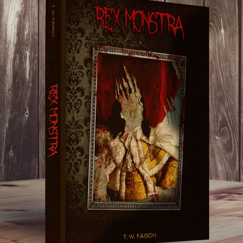 Horror Book Cover ! :P