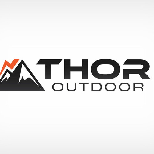 Logo for an outdoor / camping / sporting company
