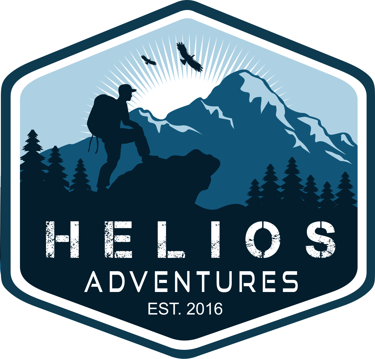 Create a eye catching logo for Helios Adventures