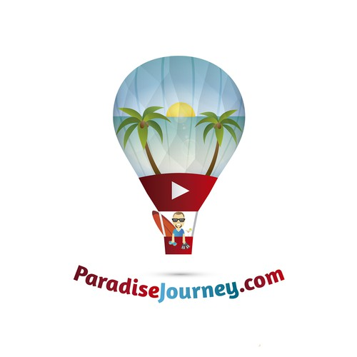 Logo for Travel Blog & YouTube.
