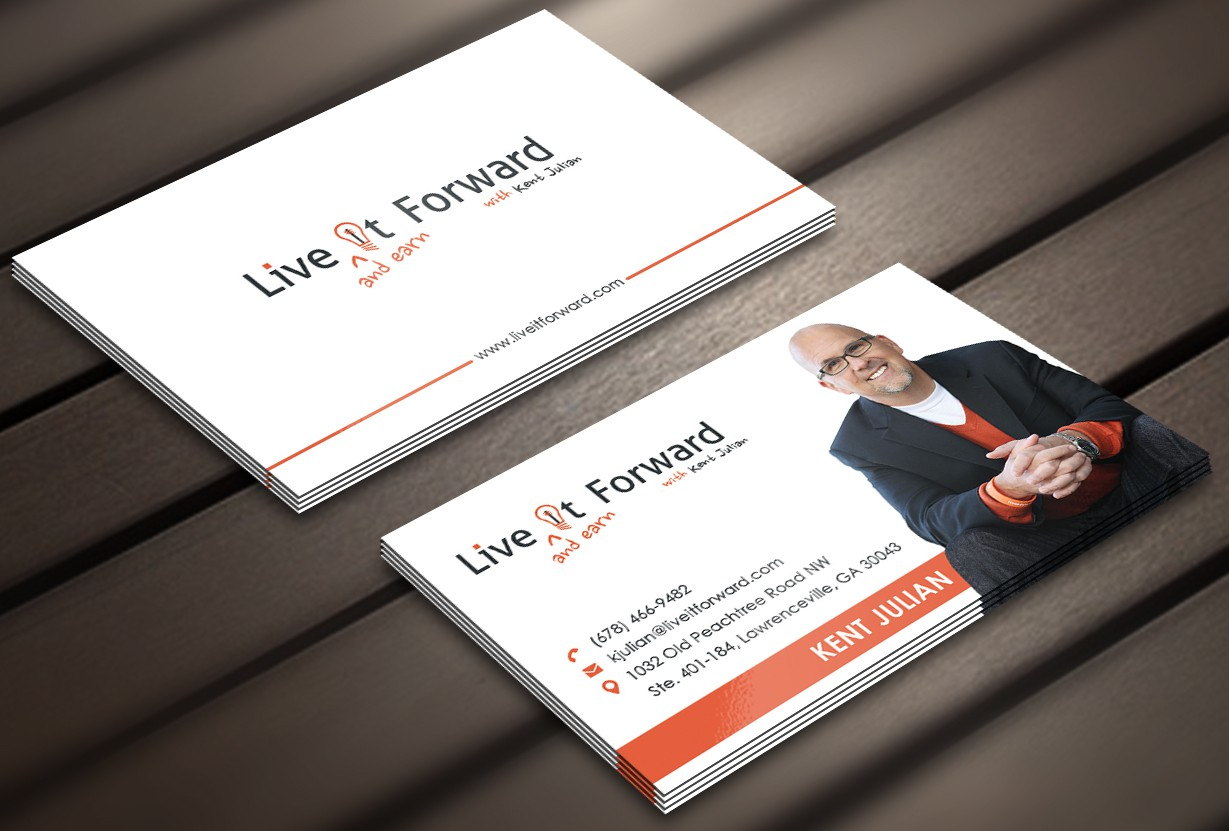 Live It Forward Business Card and More