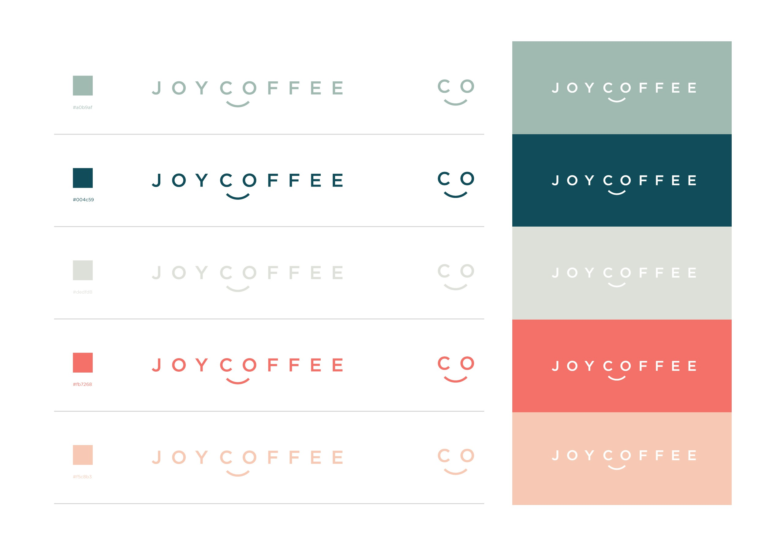"""Create a brand that brings as much """"Joy"""" as drinking coffee"""