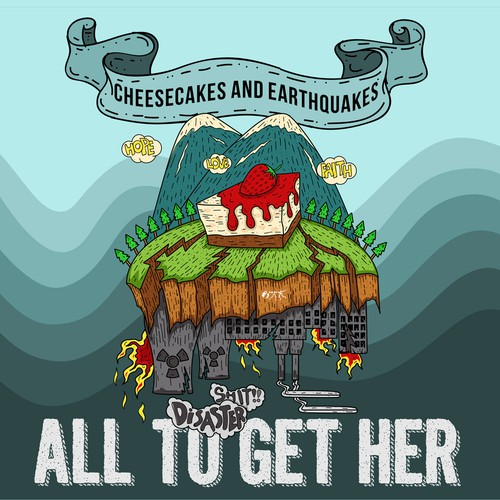 Concept CD cover for All to Get Her
