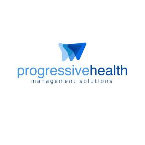 Winning logo for Progressive Health company