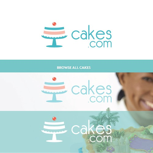 logo for online pastry shop