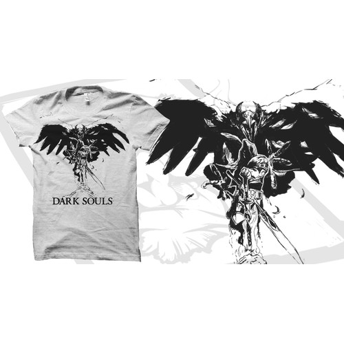 Dark Souls T-shirt design