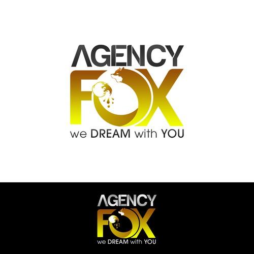 Design Agency Logo - Agency Fox.com - Hot new design company