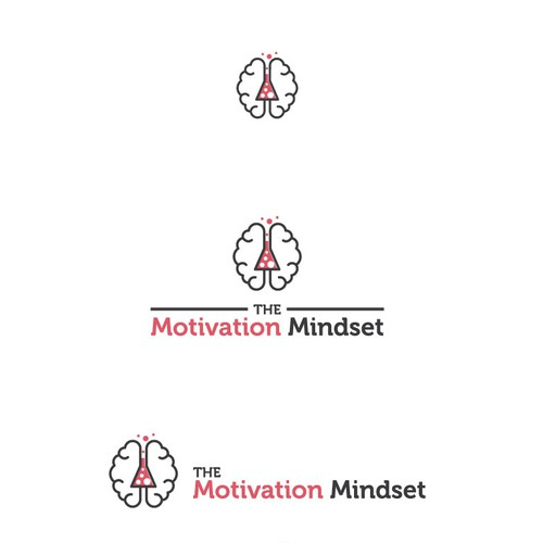 Playful logo for The Motivation Mindset