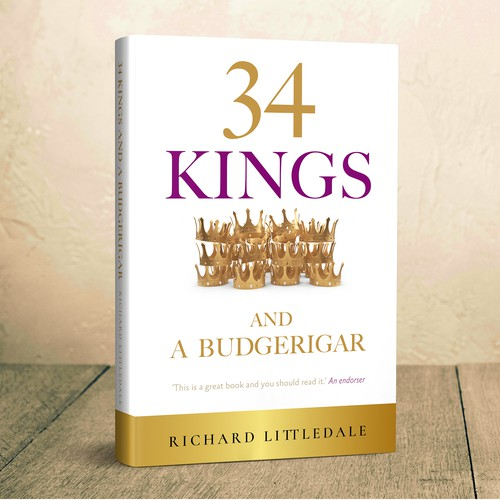 34 Kings Book Cover concept