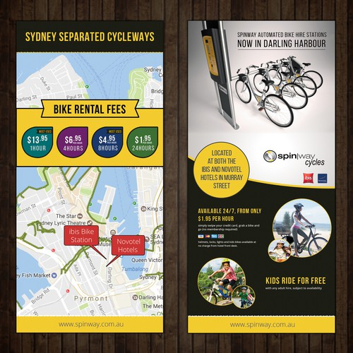 Flyer Design for SpinWay Cycles
