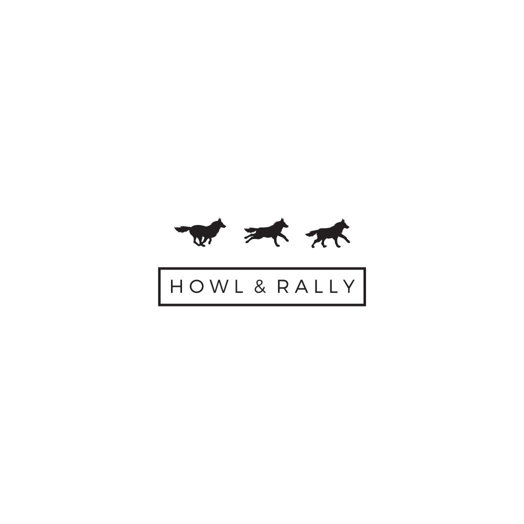 Design a powerful, iconic logo for Howl & Rally