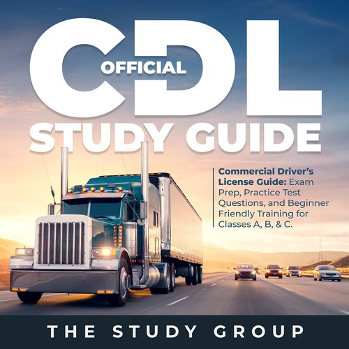 eBook Cover for a CDL study guide