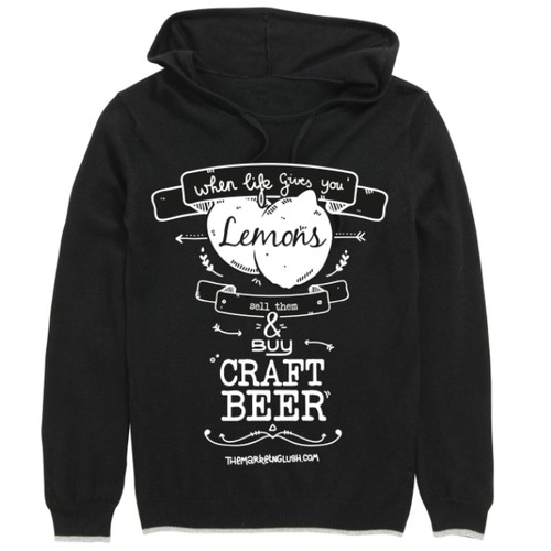 Craft beer t-shirt design