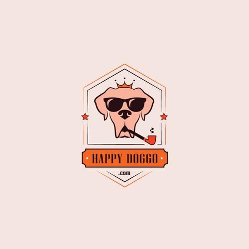 Logo for happydoggo.com