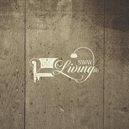 Logo concept for Sway Living LLC, a high design brand