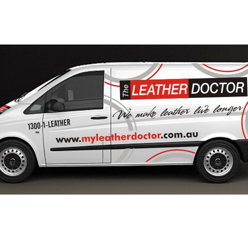 New design wanted for The Leather Doctor